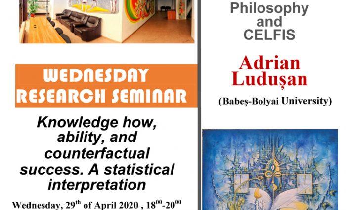 stire seminar filosofie