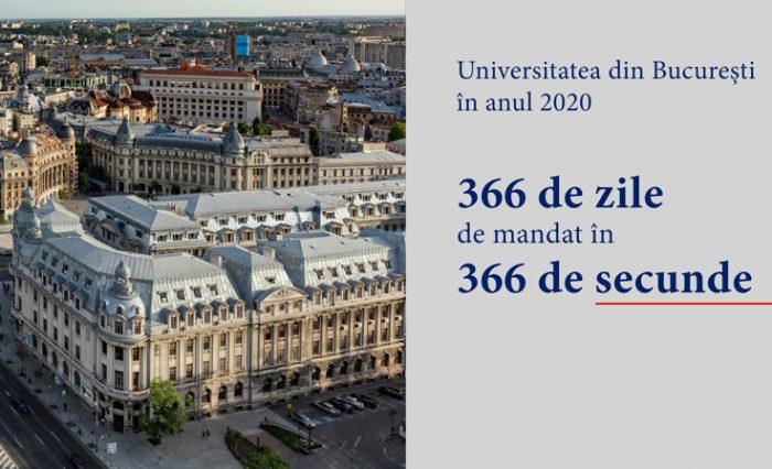 raport 2020 rector unibuc ub marian preda video