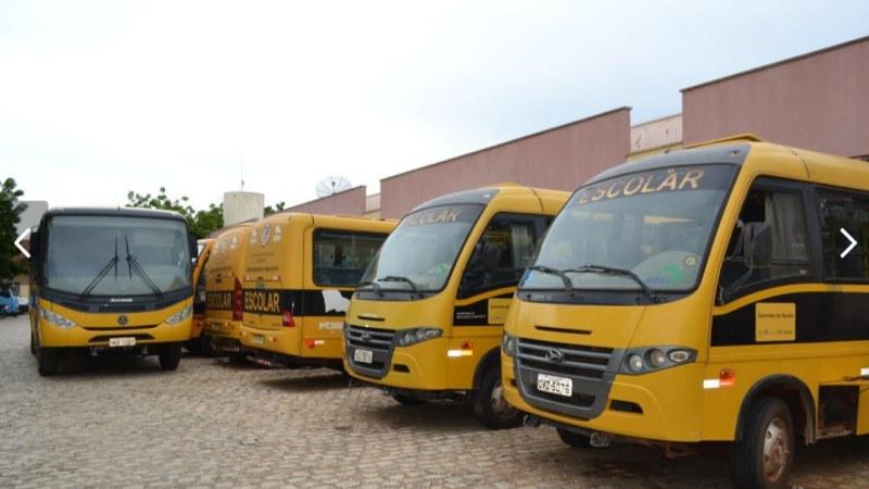 Mossoró: Prefeitura mantém 29 ônibus para garantir o transporte escolar gratuito