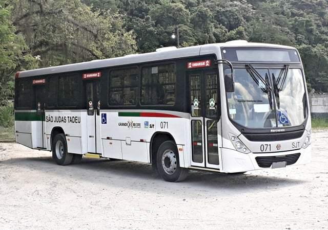 PE: São Judas Tadeu renova sua frota com 10 ônibus novos