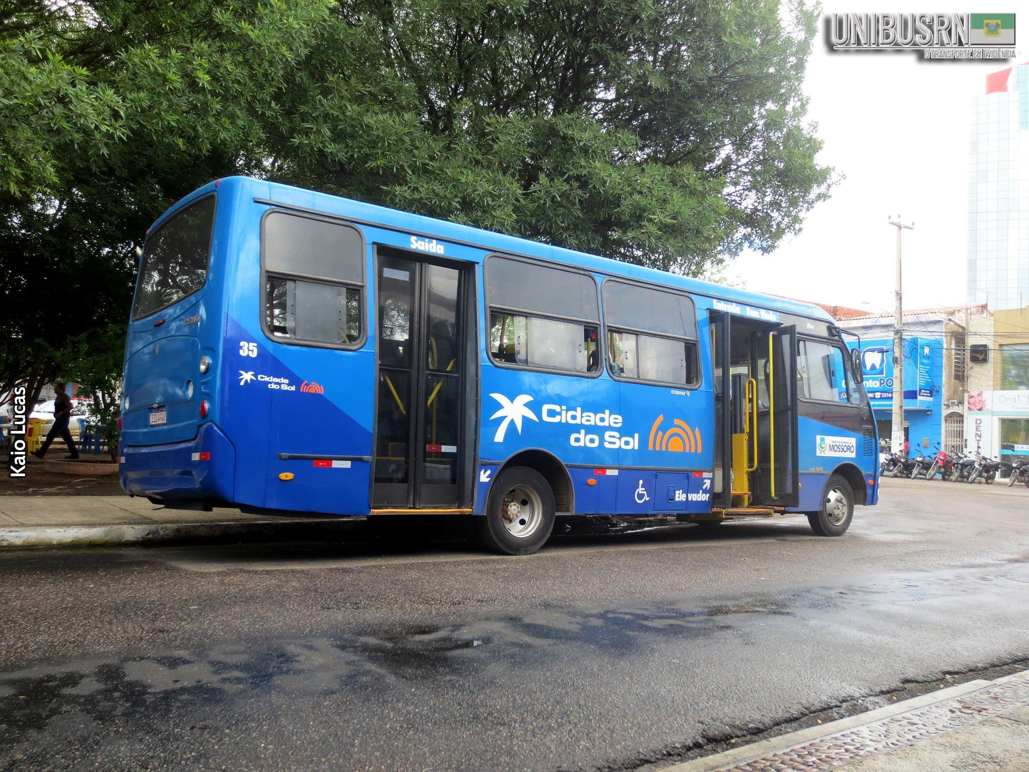 Mossoró: Cidade do Sol informa novo quadro de horário de 10 linhas de ônibus