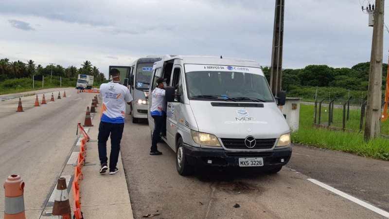 Ação conjunta nas rodovias potiguares é iniciada para combater proliferação do novo Coronavírus