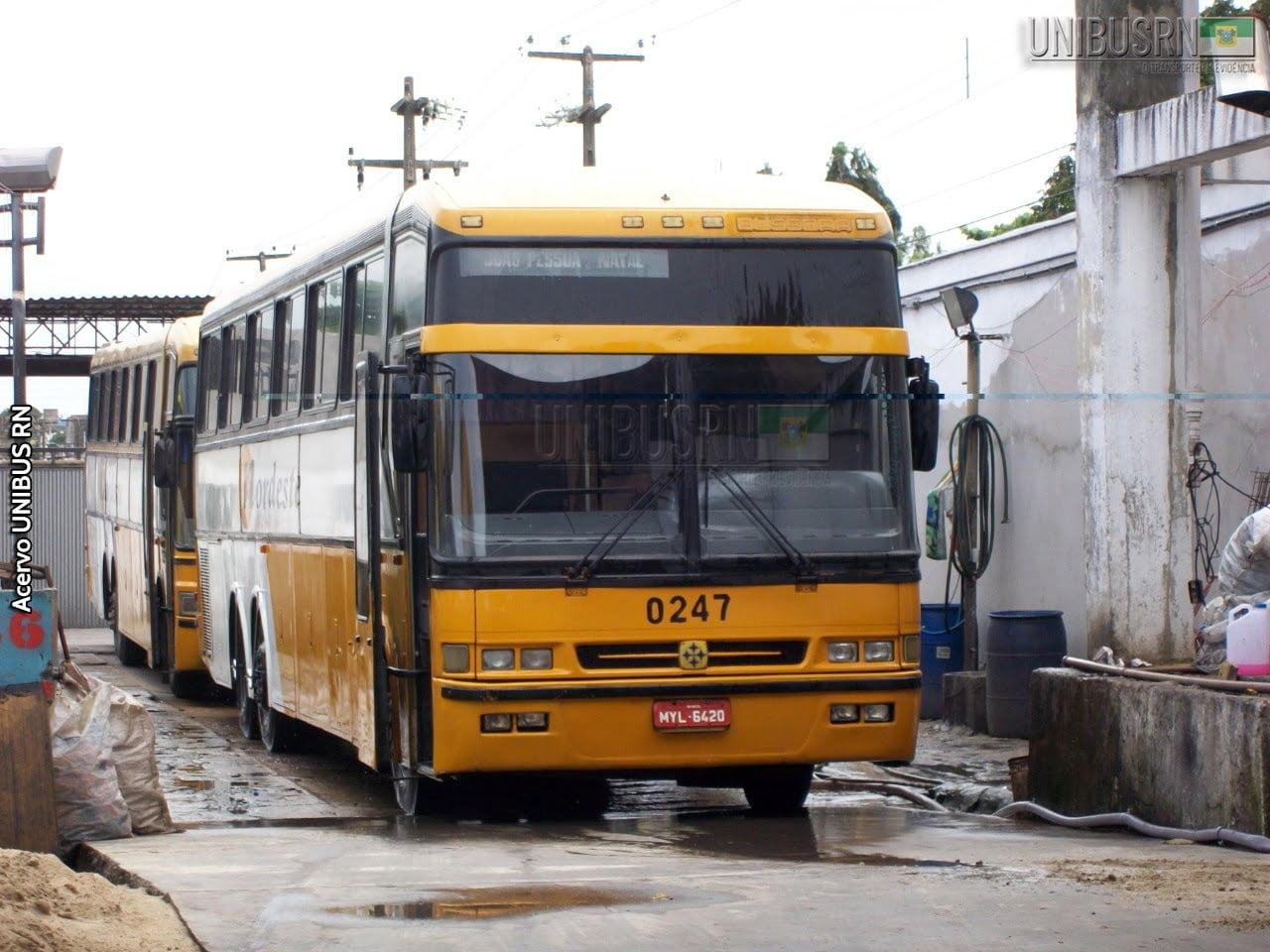 #TBT UNIBUS RN: Um Jum Buss diferenciado na frota da Viação Nordeste