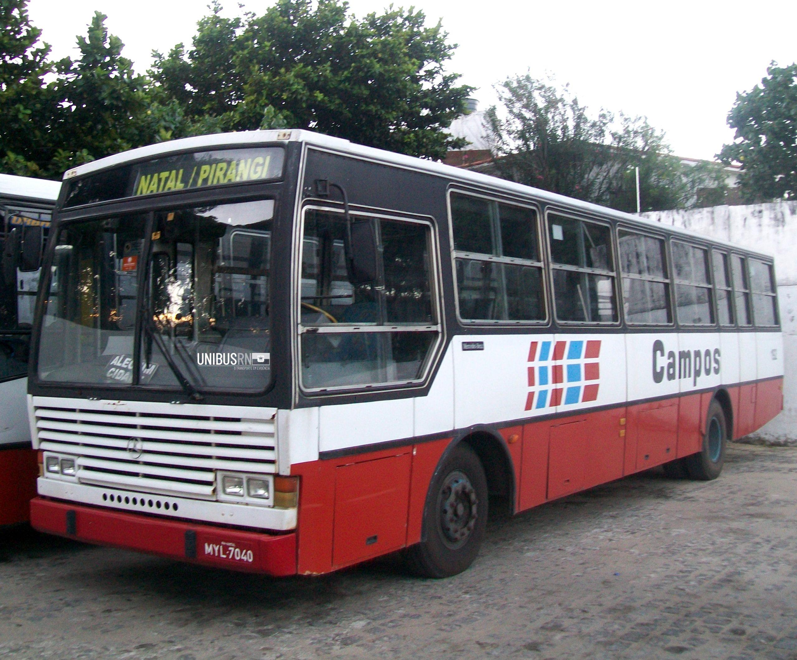 #TBT Unibus RN: O 'Vitória' da Viação Campos