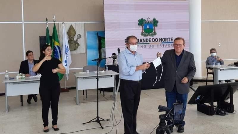 Fetronor consegue junto ao Governo do Estado a doação de mais de 10 mil máscaras aos trabalhadores do transporte