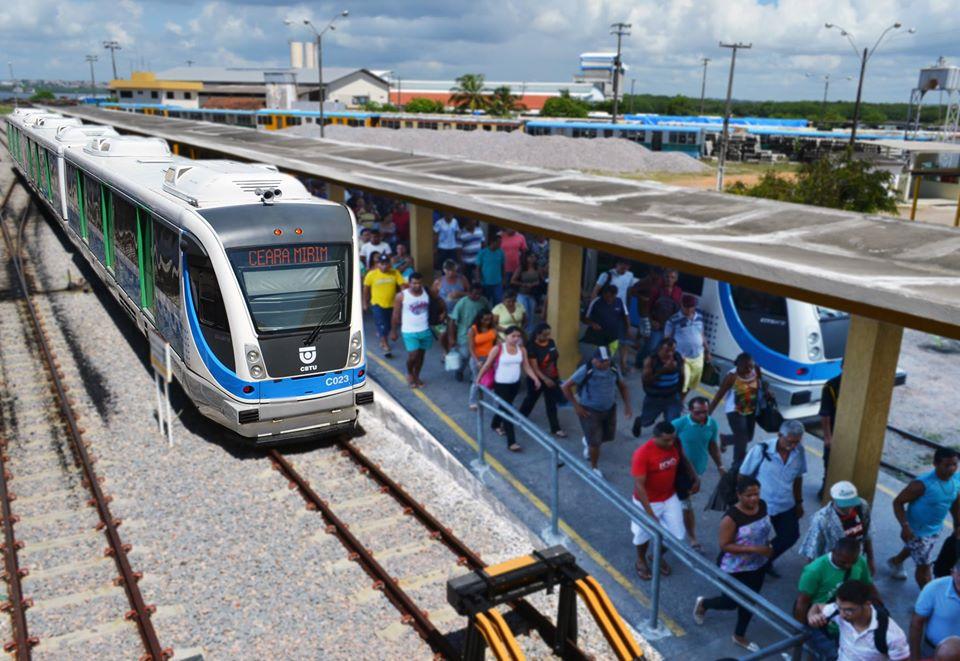 Trens urbanos: Linha Norte, que liga Natal a Ceará-Mirim, será suspensa nesta segunda-feira