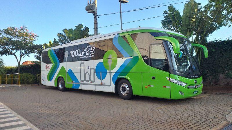 BYD concluiu homologação de ônibus 100% elétrico de fretamento