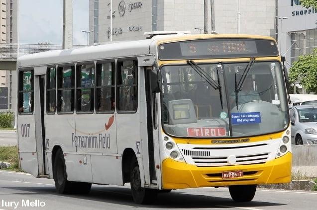 #TBT Unibus RN: Os 'Mega' da empresa Parnamirim Field