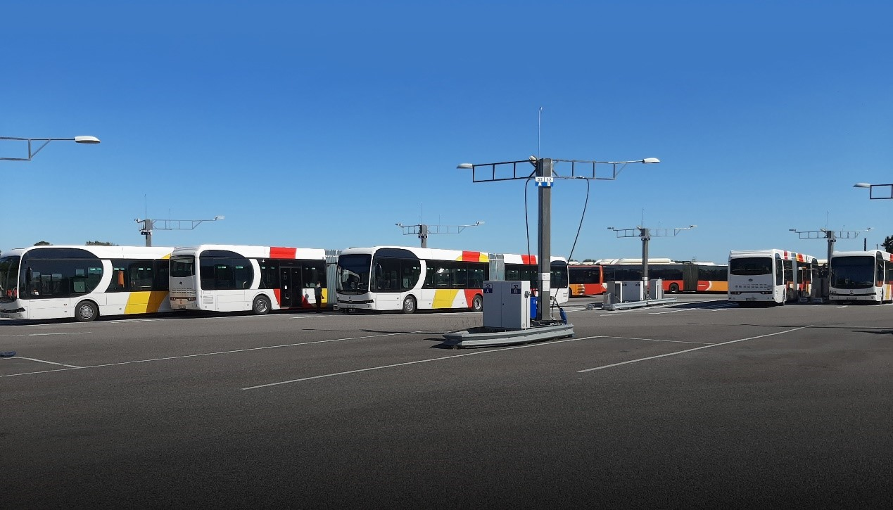 Internacional: Suécia recebe duas frotas de ônibus 100% elétricos da BYD