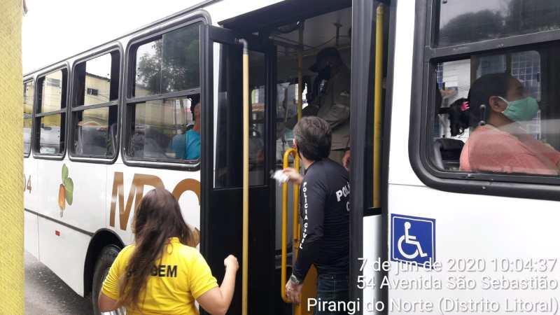 Prefeitura de Parnamirim e Polícia Civil constatam que Viação MDC cumpre normas do decreto estadual para operação do transporte