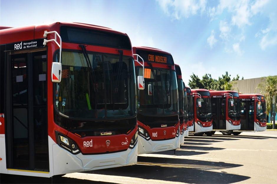Internacional: Renovação de frota do Chile contará com 355 carrocerias de ônibus Caio