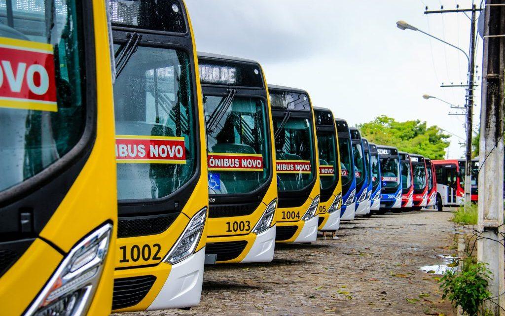 Maceió anuncia o retorno de 100% da frota de ônibus para segunda-feira, 20