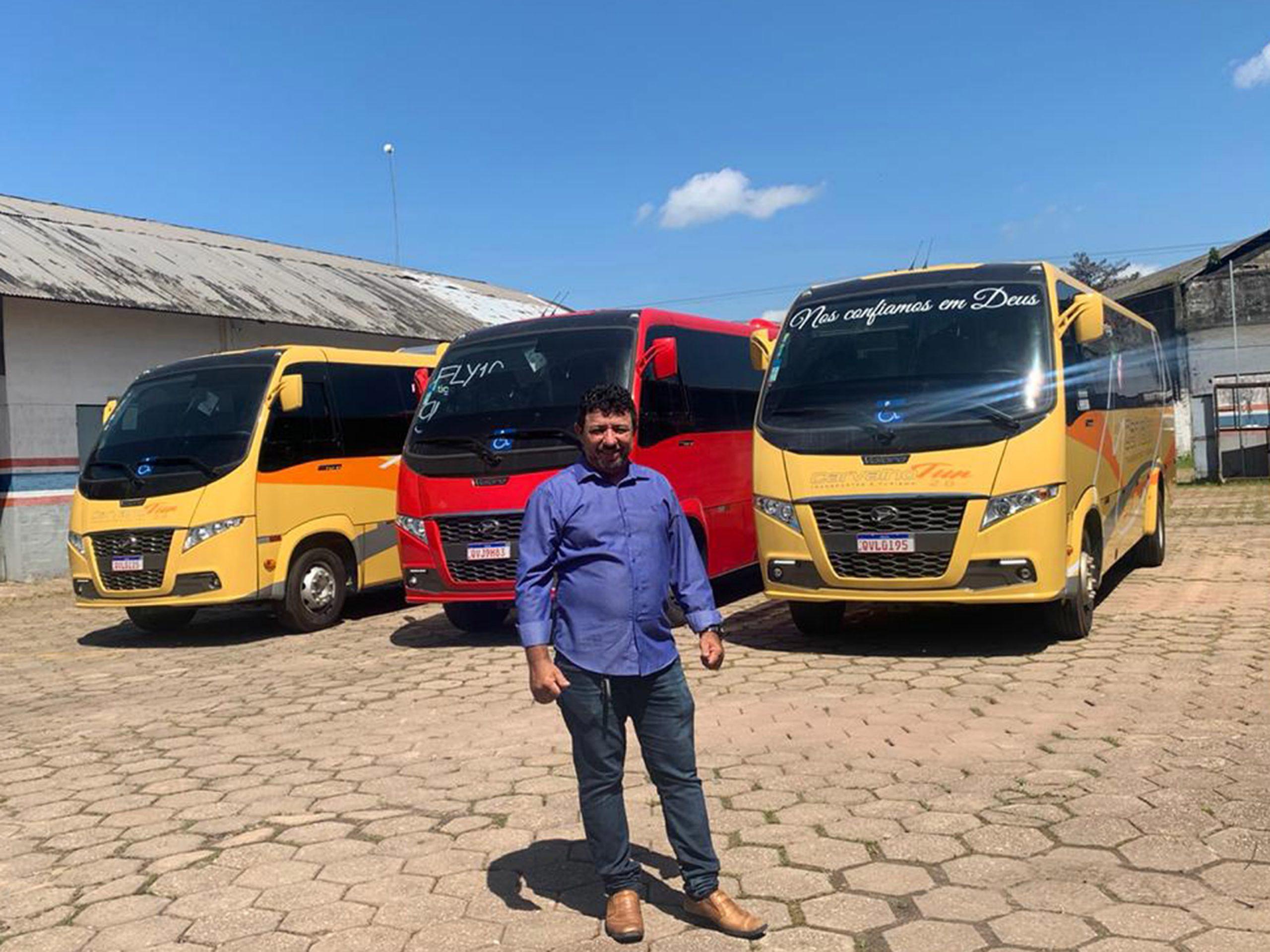 PA: Belém prepara retomada de atividades com novos veículos Volare
