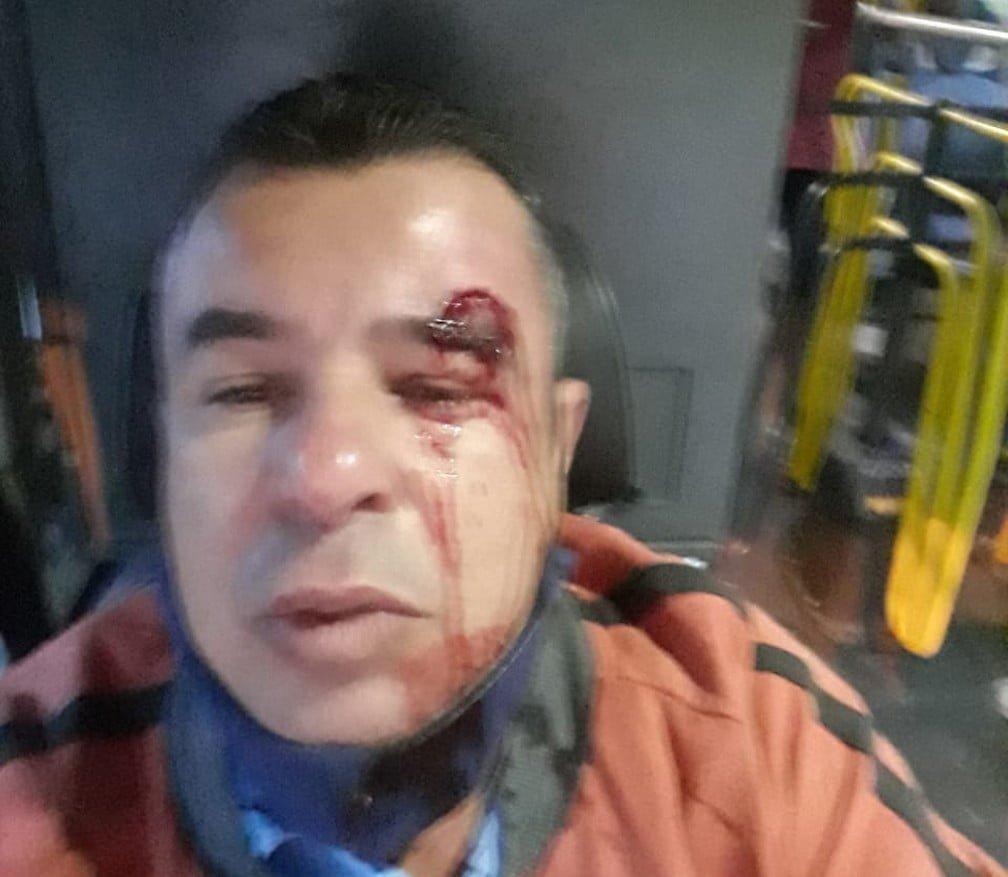 Motorista de ônibus é agredido em BH após exigir uso de máscara