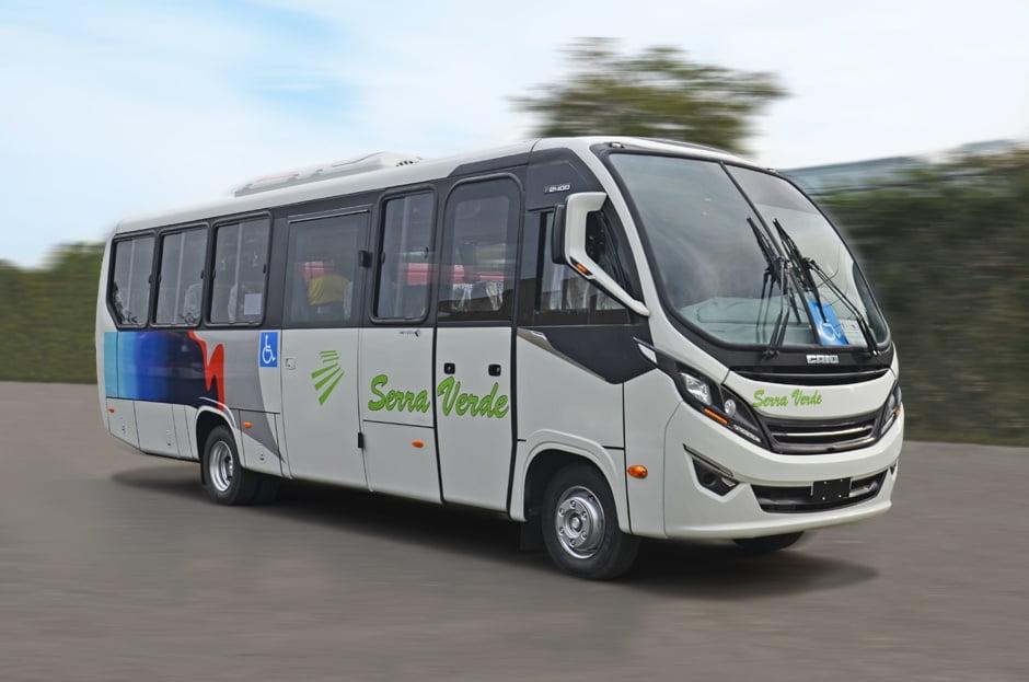 MG: Serra Verde Transportes adquire treze micros F2400 da Caio