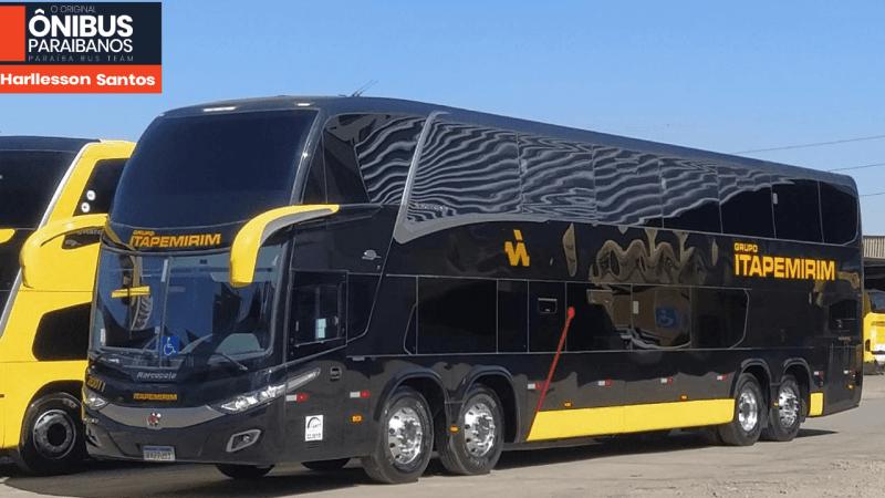 Os ônibus pretos da Viação Itapemirim