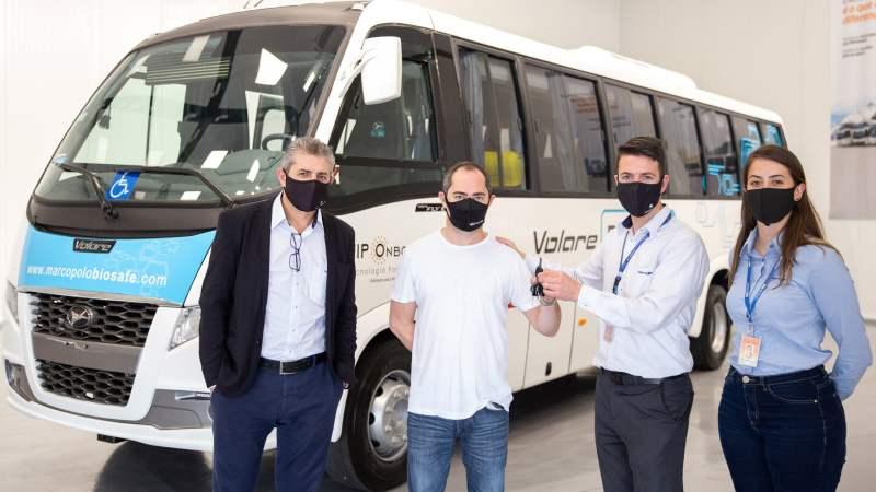 Volare com soluções BioSafe fará transporte de colaboradores da WestRock, em Santa Catarina