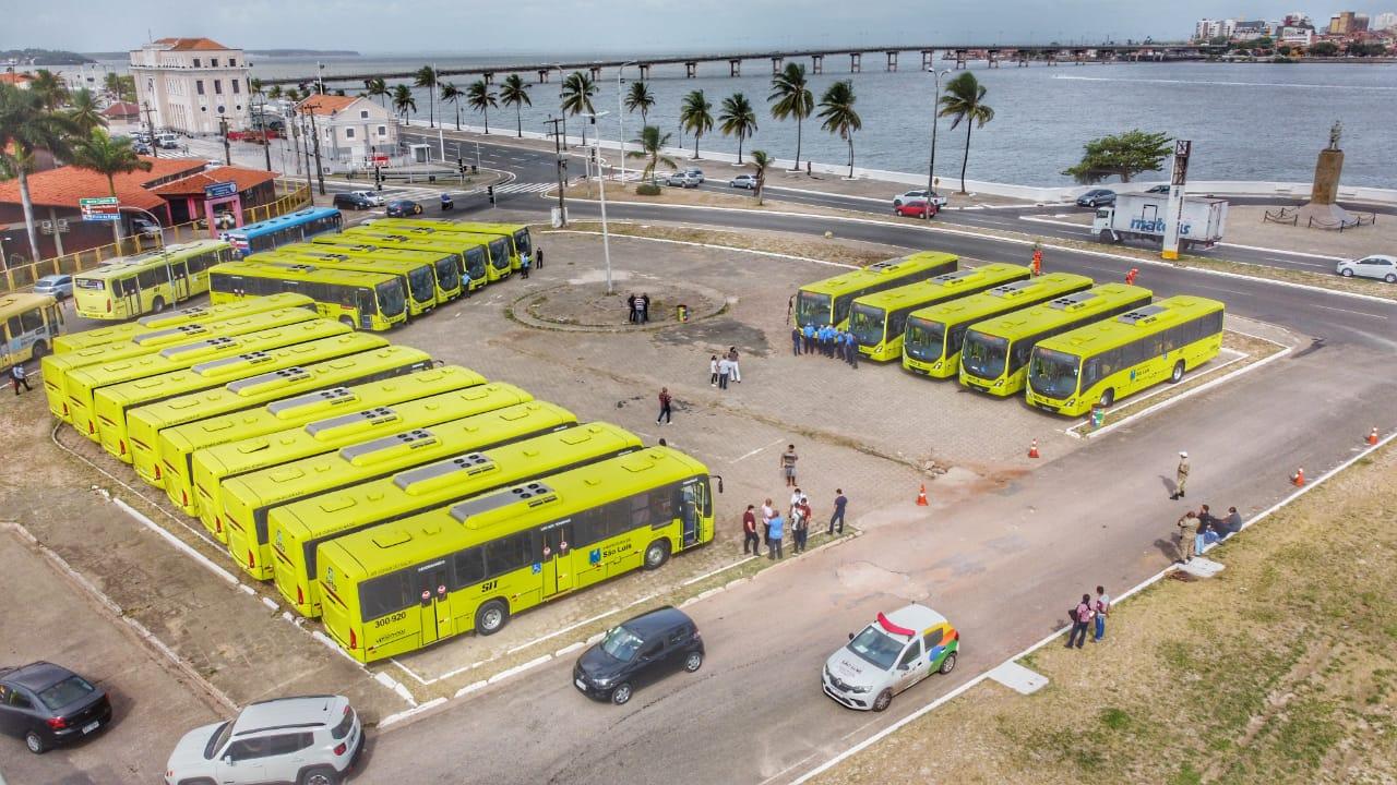 MA: 21 novos ônibus são inseridos no sistema de transporte público de São Luís