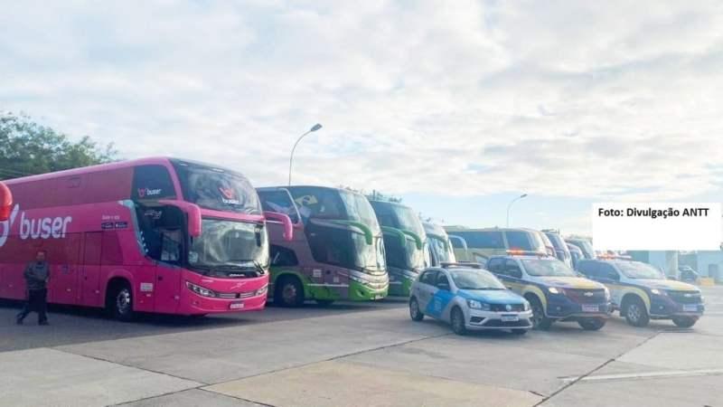 ANTT faz mais 13 apreensões de ônibus de transporte não autorizado