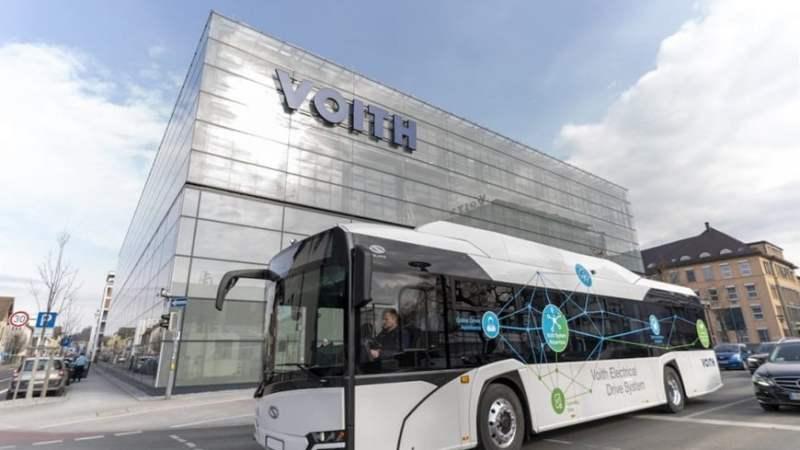 Voith e Orten criam parceria para converter caminhões e ônibus à eletricidade