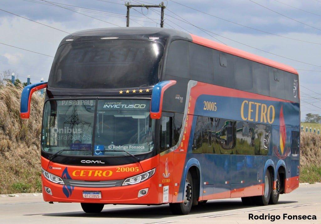 Cetro solicita a ANTT mercados que ligam a Paraíba a destinos no Nordeste e Sudeste do país