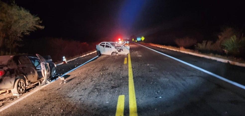 Homem morre e duas pessoas ficam feridas em acidente a BR-304 no interior do RN