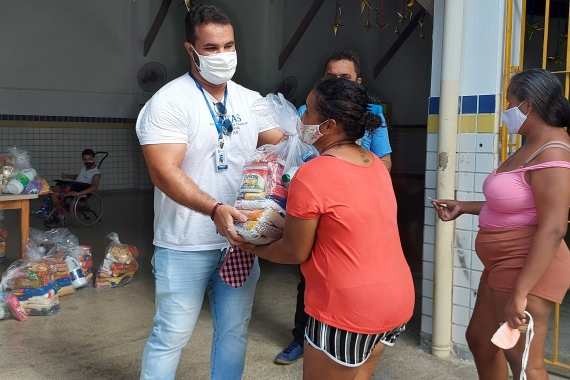Natal: Semtas e Seturn realizam novas entregas de cestas básicas