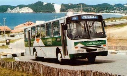 Retrô: A presença do Ciferal GLS Bus em Natal