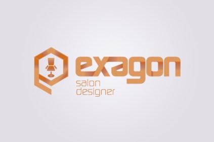 Logo Exagon Salon Designer