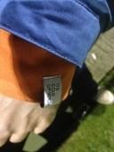 Closer Than Most Warehouse sweatshirt (burnt orange), Minimum Franco jacket (victoria blue)