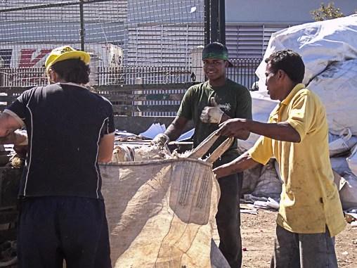 unicopas - cooperativas - reciclagem