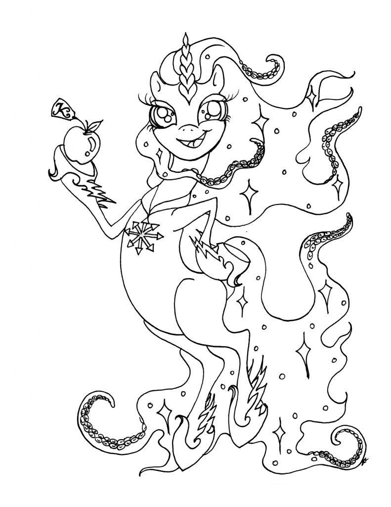 Unicorn Goddess Eris Discordia