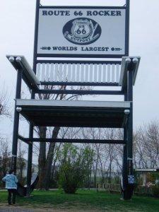 Route 66 Rocker, Black, 2009