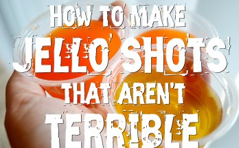 How To Make Jello Shots That Aren't Terrible