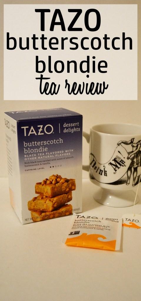 Tazo Butterscotch Blondie Tea Review
