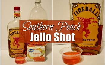 Southern Peach Jello Shot | Unicorn Hideout