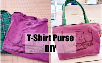 DIY T-shirt Purse Tutorial