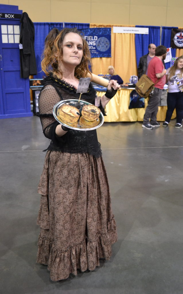 Mrs. Lovett Sweeney Todd Cosplay