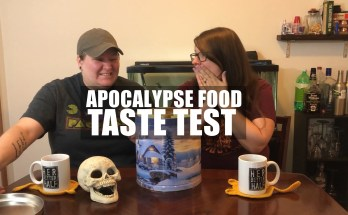 Apocalypse Food Taste Test Video