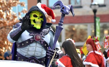 Springfield Christmas Parade 2018 Skeletor