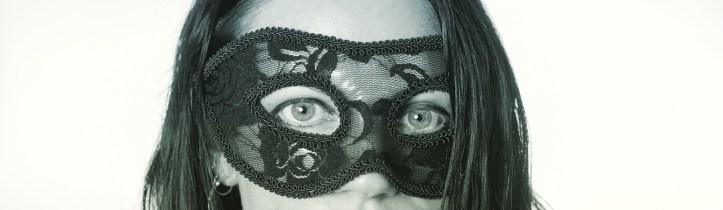 Masked eyes