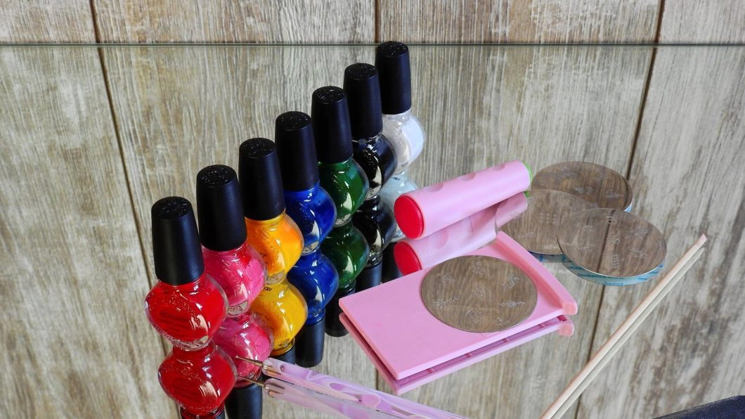 nail polish - is being trans a secret?