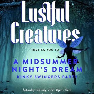 Lustful Creatures London Swinger and Kink party with hottub