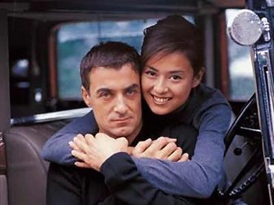 後藤久美子とジャン・アレジの画像
