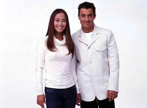 ジャン・アレジと後藤久美子の画像
