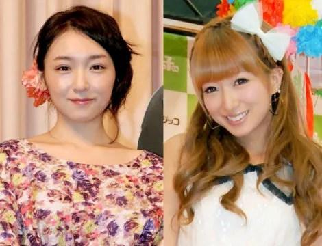 辻希美と加護亜依の画像