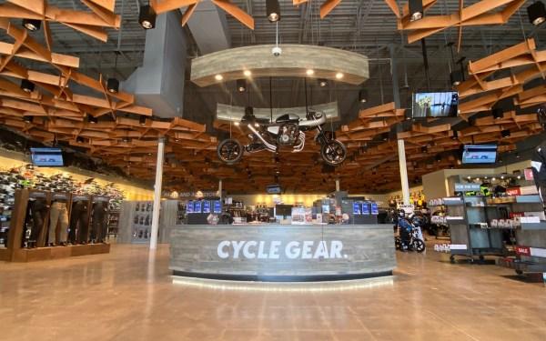 Cycle Gear portfolio thumbnail