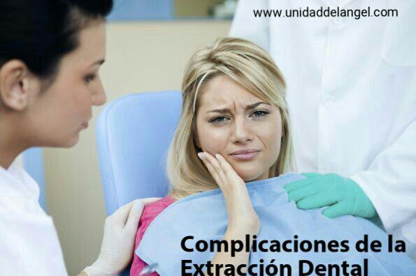 Complicaciones de una extraccion dental