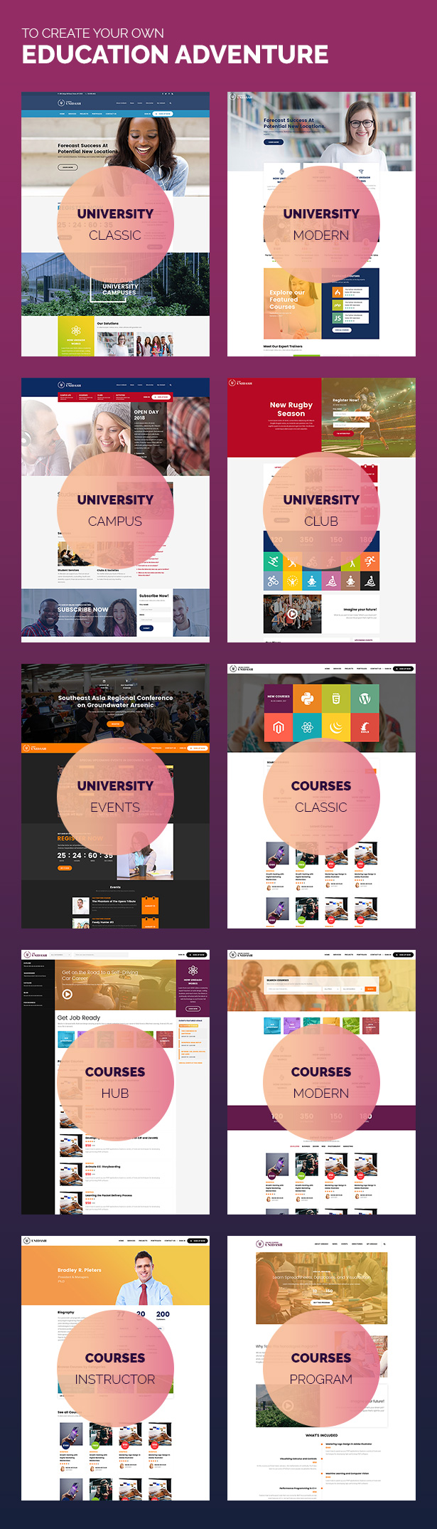 Unidash - WordPress Theme for University and Online Education - 22