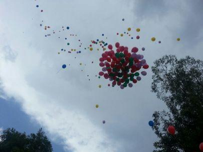 Balões no céu!